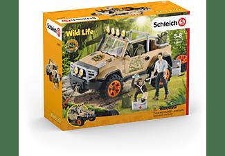 SCHLEICH Geländewagen mit Seilwinde Spielfiguren Mehrfarbig