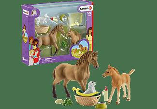 SCHLEICH HC Sarahs Tierbaby-Pflege Spielfiguren Mehrfarbig