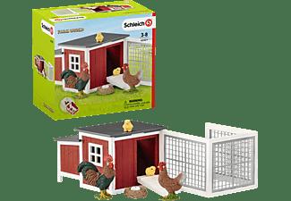 SCHLEICH Hühnerstall Spielfiguren Mehrfarbig