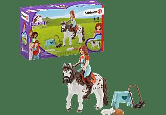 SCHLEICH HC Horse Club Mia & Spotty Spielfiguren Mehrfarbig