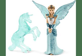 SCHLEICH MOVIE Eyela mit Einhorn Eisskulptur Spielfiguren Mehrfarbig