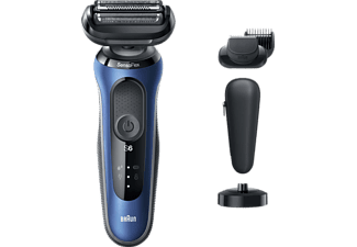 BRAUN Series 6 60-B4500CS Rasierer Blau (SensoFlex)