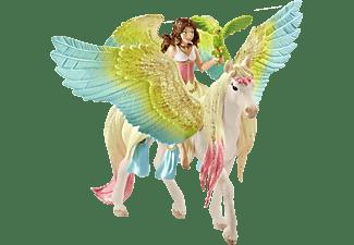 SCHLEICH Surah mit Glitzer-Pegasus Spielfiguren Mehrfarbig