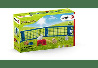 SCHLEICH Zuhause für Kaninchen und Meerschweinche Spielfiguren Mehrfarbig