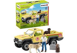 SCHLEICH Tierarztbesuch auf dem Bauernhof Spielfiguren Mehrfarbig