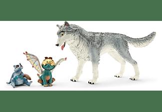 SCHLEICH MOVIE Lykos, Nugur & Piuh Spielfiguren Mehrfarbig