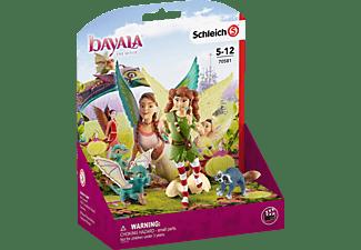 SCHLEICH MOVIE Marween mit Nugur und Piuh Spielfiguren Mehrfarbig