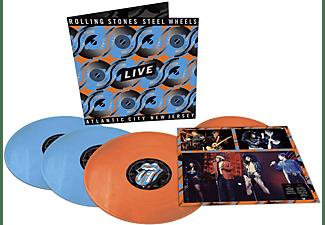 The Rolling Stones - STEEL WHEELS LIVE (1989 LTD.COLOUR +12)  - (Vinyl)