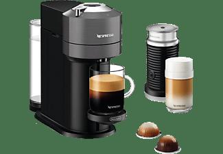 DELONGHI Nespresso Vertuo Next ENV 120.GYAE + Aeroccino3 Kapselmaschine Grau