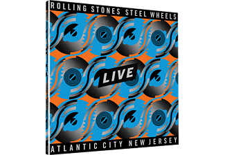 The Rolling Stones - Steel Wheels Live (Coloured Vinyl) (Limited Edition) (Vinyl LP (nagylemez))