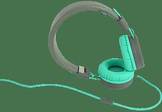 WIKO WiSHAKE, On-ear Kopfhörer Grey/Bleen