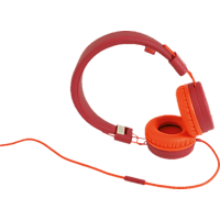 WIKO WiSHAKE, On-ear Kopfhörer Rot