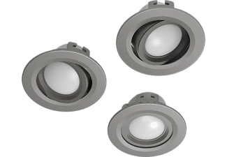 HAMA WiFi LED-Einbaustrahler, 3er Set, N