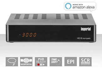 IMPERIAL HD6i kompakt SAT Receiver mit PVR