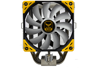 SCYTHE Mugen 5 TUF Gaming Alliance CPU-Kühler, Schwarz, Gelb, Grau, Silber