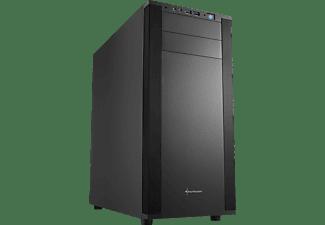 SHARKOON M25-V PC-Gehäuse, Schwarz