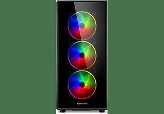 SHARKOON TG5 Pro RGB PC-Gehäuse, Schwarz