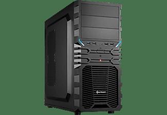 SHARKOON VG4-V PC-Gehäuse, Schwarz