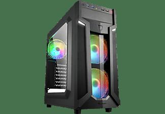 SHARKOON VG6-W RGB PC-Gehäuse, Schwarz