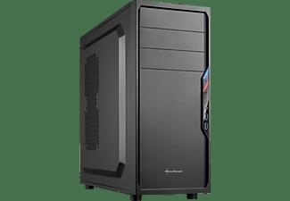 SHARKOON VS4-V PC-Gehäuse, Schwarz