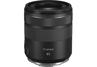Objetivo - Canon RF85, 85 mm, F/2.0 Macro, IS STM, Negro