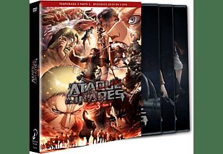 Ataque a los Titanes Temporada 3 Parte 2  - DVD