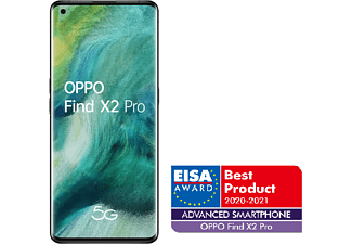 "Móvil - OPPO Find X2 Pro, Negro, 512 GB, 12 GB, 6.7"" 3K QHD+, Qualcomm Snapdragon 865, 5G, 4260 mAh, Android"