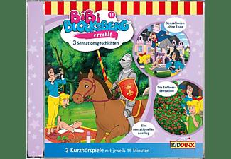 Bibi Blocksberg - Kurzhörspiele-Bibi erzählt:Sensationsgeschichten [CD]