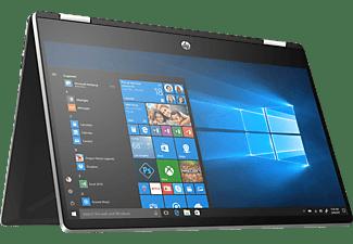 HP Pavilion x360 14-dh1301ng, Convertible mit 14 Zoll Display, Core™ i3 Prozessor, 8 GB RAM, 512 GB SSD, Intel® UHD Graphics, Silber