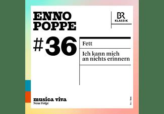 Pintscher/Maelkki/Chor und SO des BR - FETT - ICH KANN MICH AN NICHTS ERINNERN  - (CD)