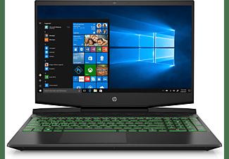 HP Pavilion 15-dk1301ng, Gaming Notebook mit 15,6 Zoll Display, Core™ i5 Prozessor, 16 GB RAM, 512 GB SSD, GeForce GTX 1660 Ti Max-Q, Schwarz