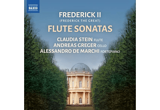 Greger,Andreas/De Marchi,Alessandro - FREDERICK II: Flötensonaten  - (CD)