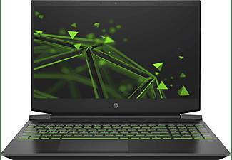 HP Pavilion 15-ec1302ng, Gaming Notebook mit 15,6 Zoll Display, Ryzen 5 Prozessor, 16 GB RAM, 512 GB SSD, GeForce® GTX 1650, Schwarz
