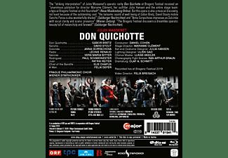 Bretz/Stout/Cohen/Wiener Symphoniker - Don Quichotte - Bregenz Festival 2019  - (Blu-ray)