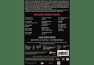 Flórez/Minasi/Orchestra La Scintilla - Juan Diego Florez Sings Mozart  - (DVD)