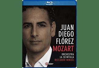 Flórez/Minasi/Orchestra La Scintilla - Juan Diego Flórez sings Mozart  - (Blu-ray)