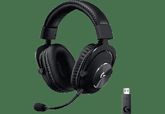 LOGITECH Gaming Headset G Pro X Wireless Lightspeed, kabellos, Schwarz (981-000906)