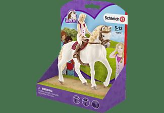 SCHLEICH HC Horse Club Sofia & Blossom Spielfigurenset, Mehrfarbig
