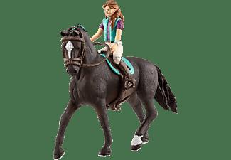SCHLEICH HC Horse Club Lisa & Storm Spielfigurenset, Mehrfarbig