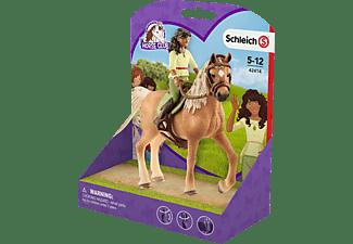 SCHLEICH HC Horse Club Sarah & Mystery Spielfigurenset, Mehrfarbig