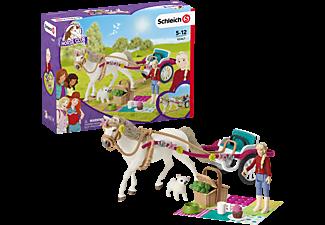 SCHLEICH Kutsche für Pferdeshow Spielfigurenset, Mehrfarbig