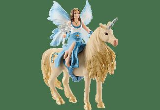 SCHLEICH Eyelas Ausritt auf Goldeinhorn Spielfigurenset, Mehrfarbig