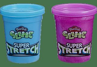 PLAY-DOH Super Stretch Schleim 2er-Pack Sortiment Knete, Farbauswahl nicht möglich
