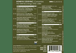 Henryk/Kammerorch.SR/SWF Sinf.Orch. Szeryng - Henryk Szeryng Plays Violin Concertos  - (CD)
