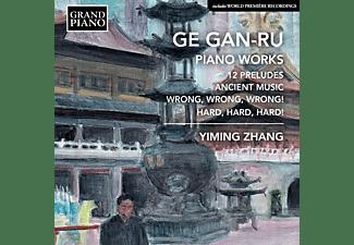 Yiming Zhang - Klaviermusik  - (CD)