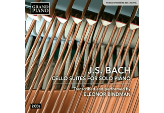 Eleonor Bindman - Cello Suiten für Klavier solo  - (CD)