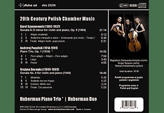 Huberman Piano Trio/Huberman Duo - 20TH CENTURY POLISH CHAMBER MUSIC  - (CD)