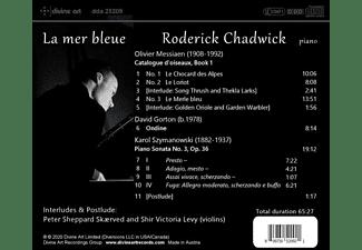 Chadwick,R./Skaerved,P.Sheppard/Levy,Shir V. - LA MER BLEUE: PIANO MUSIC FROM MESSIAEN, GORTON &  - (CD)