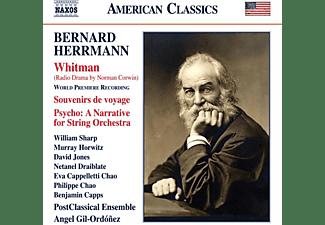Angel/postclassical Ensemble Gil-ordonez - WHITMAN - SOUVENIRS DE VOYAGE - PSYCHO  - (CD)