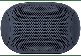 Altavoz inalámbrico - LG XBOOM GO PL2, 5 W, Bluetooth, Autonomía 10 h, IPX5, Azul